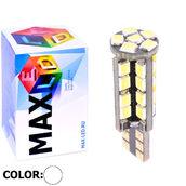 Светодиодная авто лампа W5W T10 – Max-Hill 38Led 6Вт Белая