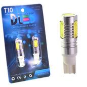 Светодиодная авто лампа W5W T10 – 4 HP 6Вт Белая