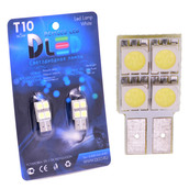 Светодиодная авто лампа W5W T10 – 4 SMD5050 0.96Вт Белая