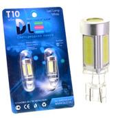 Светодиодная авто лампа W5W T10 – 5 COB 9Вт Белая