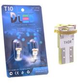 Светодиодная авто лампа W5W T10 – 5 SMD3528 0.4Вт Белая