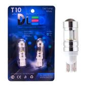 Светодиодная авто лампа W5W T10 – 6 Cree 30Вт Белая