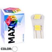 Светодиодная авто лампа W5W T10 – 6 Max-Ceramic 3Вт Белая