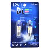 Светодиодная авто лампа W5W T10 – 6 SMD5630 Обманка 2.4Вт Белая