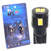 Светодиодная авто лампа W5W T10 – 6 SMD5630 Black 2.4Вт Белая