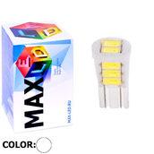 Светодиодная авто лампа W5W T10 – 8 Max-Ceramic 4Вт Белая