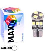 Светодиодная авто лампа W5W T10 – Max-Hill 9Led 3Вт Белая