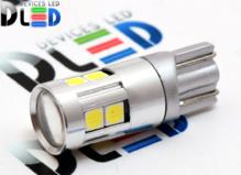 Светодиодная авто лампа W5W T10 – 5 SMD3030 5Вт