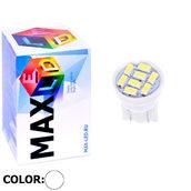 Светодиодная авто лампа W5W T10 – Max-Lendigo 8Led 0.5Вт Белая