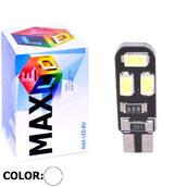 Светодиодная авто лампа W5W T10 – Max-Road B 6Led 3Вт Белая