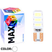 Светодиодная авто лампа W5W T10 – Max-Road Silica 6Led 2Вт Белая