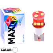 Светодиодная авто лампа W5W T10 – Max-Samsung 9Led 9Вт Белая