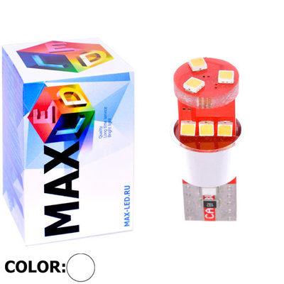 Светодиодная авто лампа W5W T10 – Max-Samsung Chip 9Led 9Вт Белая
