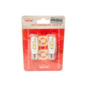 Светодиодная авто лампа W5W T10 - SHO-ME T10 - ALPHA 2323 - 10W Белая